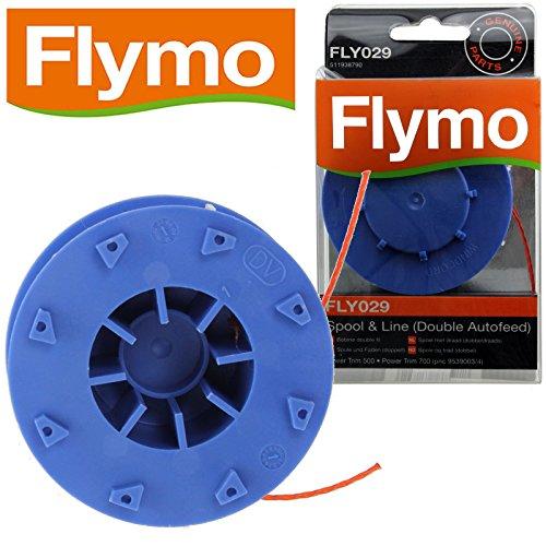 Flymo - Carrete recorte cabeza fresadora compatible