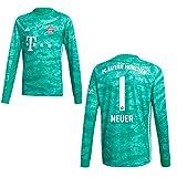 adidas FC Bayern Trikot Torwart Kinder 2020 - Neuer 1