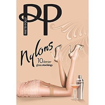 Pretty Polly Nylons 10 denier gloss stockings