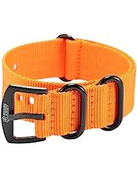 Shark Army WTL069–Nylon Strap–Orange (22)