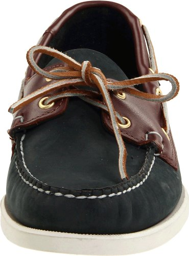 Sebago Men's Spinnaker Shoe,Blue/Brown,14 M US Multicolore (Blue/Brown)