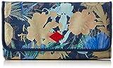 Oilily FF L Wallet, Portefeuille Femme - Bleu - Blau (Blueberry 546), 19x10x3 cm (B x H x T)