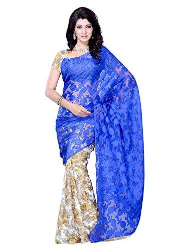 VINTAGE Girls cotton saree(VINTAGE O24_multi colour_Freesize)