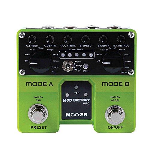 Mooer Mod Factory Pro - Pedal de efectos para guitarra