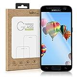 kalibri Samsung Galaxy S7 Folie - 3D Glas Handy Schutzfolie für Samsung Galaxy S7 - Auch für gewölbtes Display