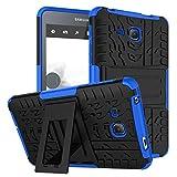 XITODA Galaxy Tab A6 7.0 Case,Hülle für Samsung Tab A 7 Hybrid Armor Cover Tough Tasche Tablet Case für Samsung Galaxy Tab A 7.0 Zoll 2016 (SM-T280/T285) Tablet Schutzhülle mit Kickstand - Dunkelblau