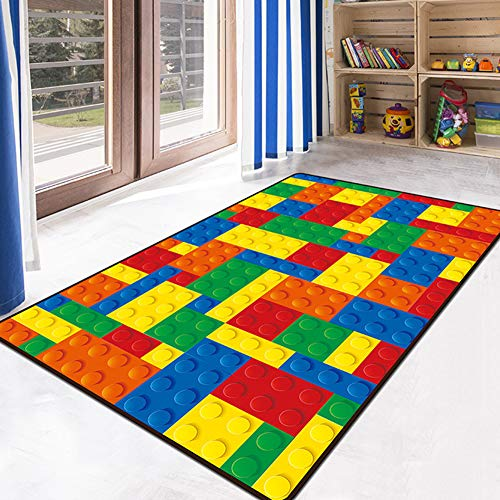 HYYK Kinder Stock Spiel Spiel Mat Bereich Teppich Maschine waschbar Kinderzimmer Nacht Baby Krabbeldecke Rechteck Teppich,#2,120×160cm -