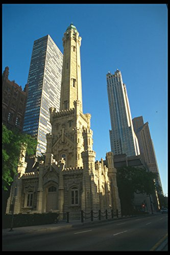 212018 Chicago Water Tower And Pumping Station N Michigan Ave A4 Photo Poster Print 10x8