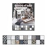 Naturpapier Block Colours of India DIN A4, silber/weiß/schwarz sortiert 20 Blatt