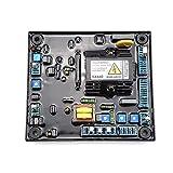 KKmoon Regulador Automático de Voltaje automático de Alto Rendimiento AVR SX440 Reemplazo Estable para Estabilizadores de Generador Componentes y Suministros Electrónicos...