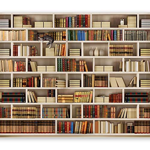 murando – Papier peint intissé – 300x210 cm – Trompe l oeil - Tableaux muraux – Déco – XXL livre 10110905-29
