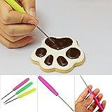 Aghi per modellare, zucchero a velo aghi per cottura della torta, marcatura Patterns glassa zucchero Craft torta decorazione colore casuale, Come da immagine, 14cm