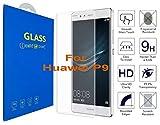 What@Store Huawei P9-3D Incurvé Verre Trempé - Transparent 3D Film Protection en...