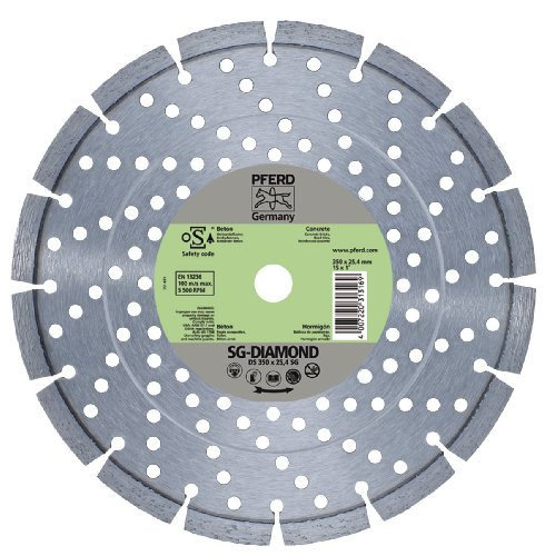 PFERD - DISCO DIAMANTE DS 350 X 2 8 X 25 4 SG