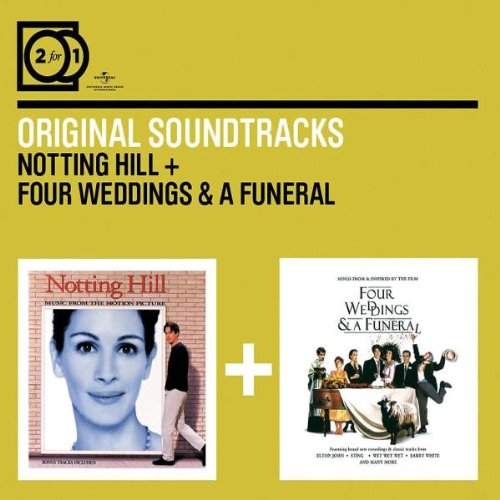 2for1: Notting Hill OST / Four Weddings And A Funeral OST