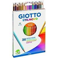 Giotto Stilnovo pastelli colorati in astuccio 36 colori