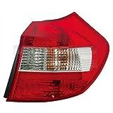 Heckleuchte Rückleuchte Rücklicht links für Modell 1 Series (E81/E87) Baujahr: 02/2003-12/2006 Kunststoff ohne Lampenträger
