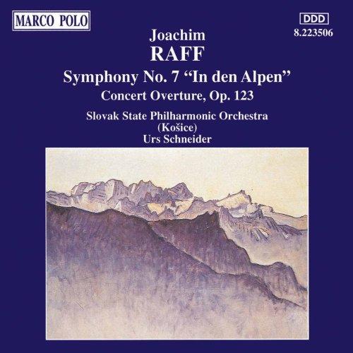 """Symphony No. 7 """"In Den Alpen"""" / Concert Overture Op. 123"""