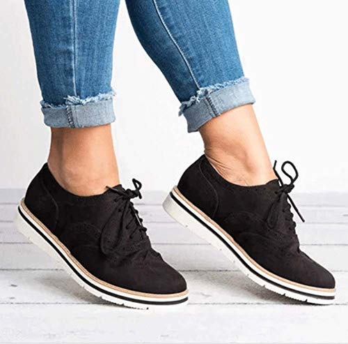 2019 Autumn and Winter New Flat-Bottom Shoes Sports England Wind Thick Bottom Brogue Shoes deep Mouth Women's Shoes