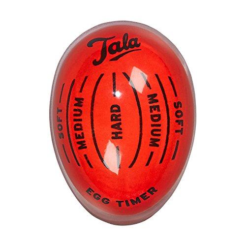 Tala Farbwechsel Egg Timer, Edelstahl, Multi, 5,5x 4x 3cm