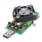 LaDicha USB Alterung Last Cell Power Bank Tester 4 schalterstrom Sense Last Kraft Widerstand