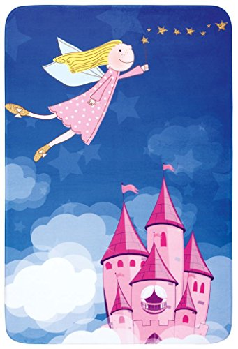 Kinder Teppich Kinderteppich - weicher Teppich - magic - Schloss - Fee