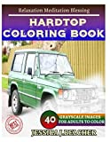 HARDTOP Coloring book for Adults Relaxation  Meditation Blessing: Sketches Coloring Book 40 Grayscale Images