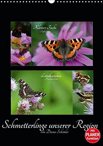 Schmetterlinge unserer Region (Wandkalender 2019 DIN A3 hoch): Das perfekte Geschenk für jeden Schmetterlings-Liebhaber. (Familienplaner, 14 Seiten ) (CALVENDO Tiere)