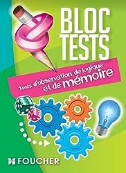 Tests d'observation, de logique et de mémoire