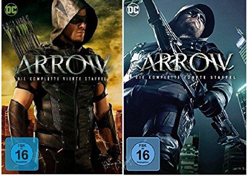 Arrow Staffel 4+5 [DVD Set] DC-Comics Serie