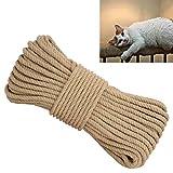 Zoomlie - Cuerda de sisal para rascar Gatos (6 mm x 4 m)