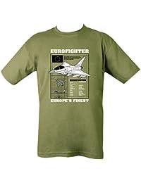 Kombat UK Men's Eurofighter Typhoon T-Shirt