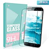 SGIN Galaxy S7 Verre Trempé, [Lot de 2] 3D Touch Verre en Film Trempé écran Protecteur, Sans Bulles, 9H Dureté, Coque Compatible, Ultra Résistant, Facile à Installer, Anti Rayures Protection Ecran Pour Samsung Galaxy S7 - Transparent