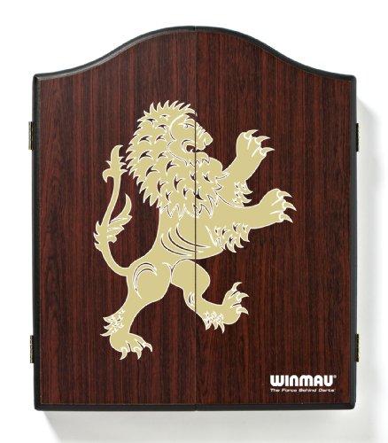 Winmau Bedrucktes Rosenholz-Dartboard Cabinet