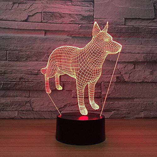 Hippocampi Bubble 3D Acryl Cartoon Seepferdchen Illusion Led Lampe Usb Tisch Nachtlicht Romantische Deko Lampe -