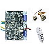 Maxfind electrónico - Tabla de skate (Motor doble disco Hub motor Kit, Dual...