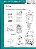 Gasherd, über 1800 Seiten (DIN A4) patente Ideen und Zeichnungen