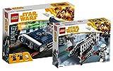 LEGO Star Wars Han Solo's Landspeeder 75209 Star Wars Spielzeug + LEGO Star Wars Imperial Patrol Battle Pack 75207 Star Wars Spielzeug