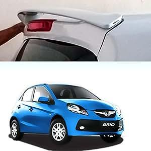 Auto Pearl - Premium Quality Car Body Colored Spoiler - Honda Brio - Energetic Blue