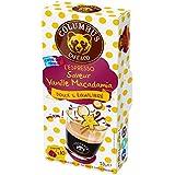 Columbus Café & Co Espresso Gourmand Saveur Vanille Noix de Macadamia 10 Dosettes Souples Compatibles Machines...