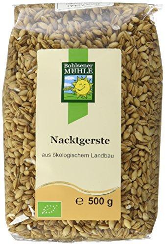 Bohlsener Mühle Nacktgerste, 6er Pack (6 x 500 g ) - Bio