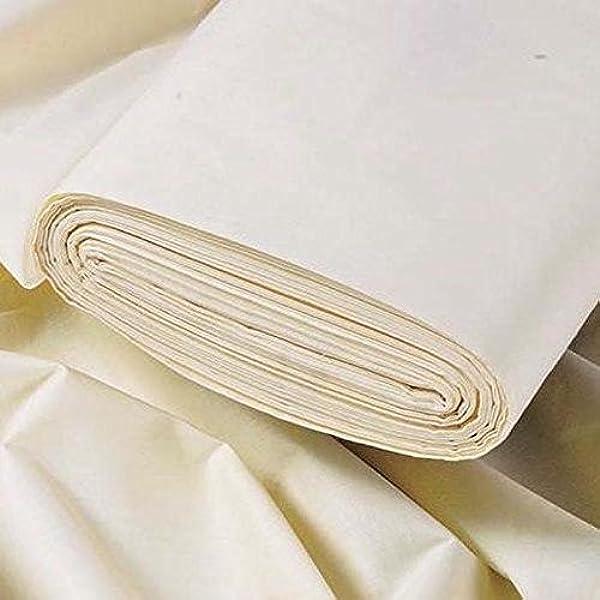 Thermal Doublure crème 137 cm largeur Rideau Tissu//Matière