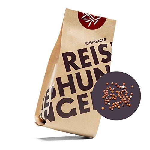 Reishunger Bio Quinoa, Rot, Peru, 3er Pack (3 x 600 g) - erhältlich in 200 g bis 9 kg