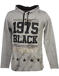 Rivaldi black - Aberlu gris cap ml tee - Tee shirt manches longues