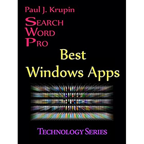 Best Windows Apps Search Word Pro (Technology Series) (English Edition)