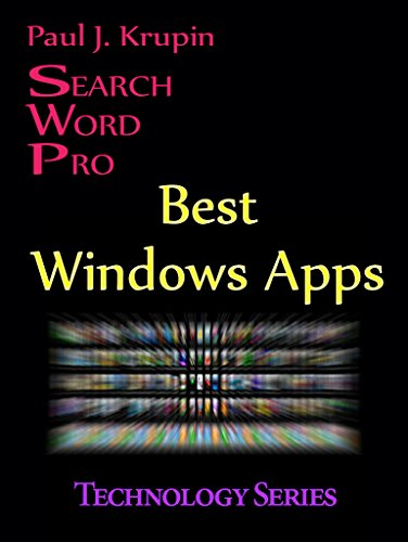 Best Windows Apps Search Word Pro (Technology Series) (English - Windows-security-film