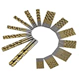 DIYI 99 tlg. HSS Metallbohrer Spiralbohrer beschichtete Titanium HSS-Bohrer Spiralbohrer