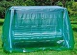 Maillesac JP0017Schutzhülle für Hollywoodschaukel, aus durchsichtigem grünem Kunststoff, 260x 130x 180cm