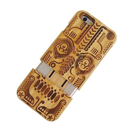 Pour IPhone 6 & 6S UK Flag Pattern Case en bois séparable JING ( SKU : S-IP6G-0336Q ) S-IP6G-0336H