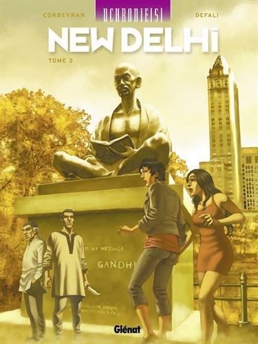 Uchronie(s) : New Delhi, Tome 3 par Eric Corbeyran